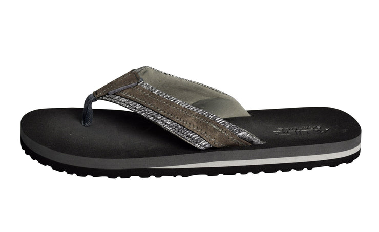 Mens Flip Flop Synthetic Suede Stappy Beach Flats Sandals