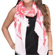 A5182-Nautical-Shell-Scarf-Coral-KL