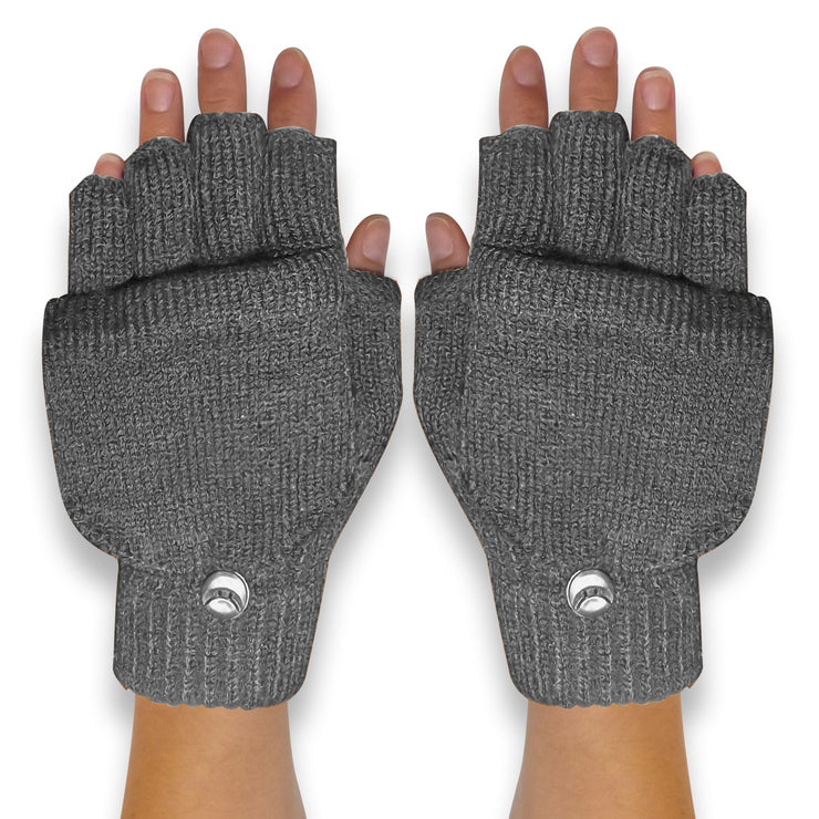 Fingerless-Flap-GL033-Grey-FBA-EHC