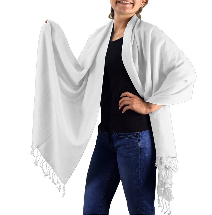 70/30-shawl-Off White