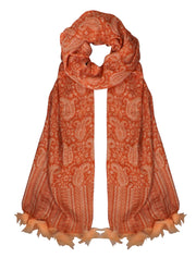 B1803-Tasseled-Pashmina-Orange
