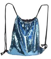 B7102-Sequin-Backpack-Turquoise-OS