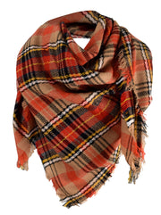 B1001-Plaid-Blanket-Scarf-Oran
