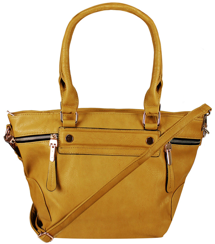 A8286-ZipAcnt-Tote-Bag-Yellow-