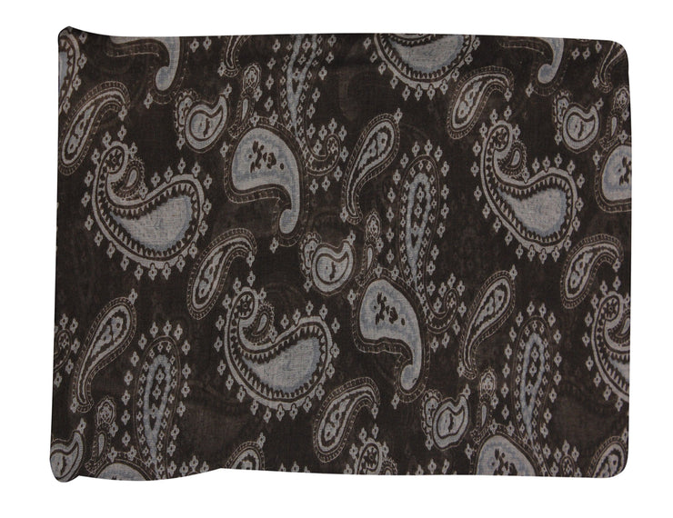 Simple & Classic Lightweight Paisley Design Scarves (Many Colors)