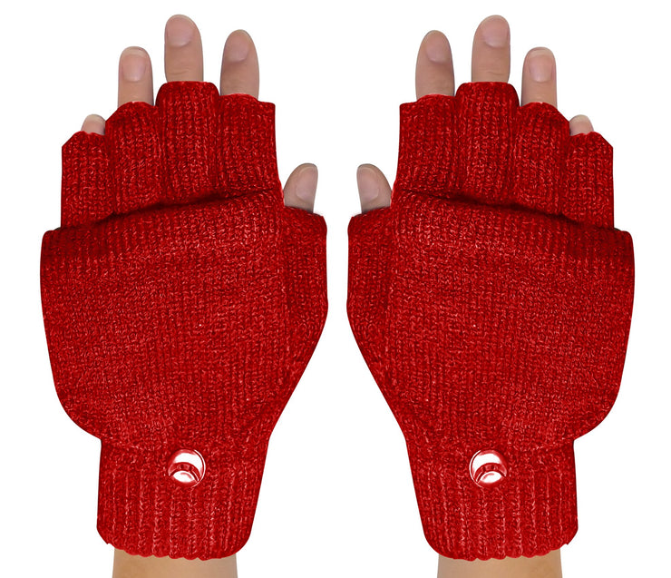Fingerless-Flap-GL033-Red-FBA-EHC