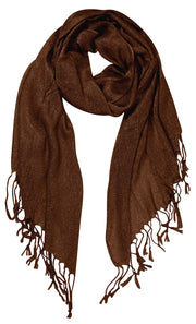A6720-Sparkle-Princess-Scarf-Brown-KL