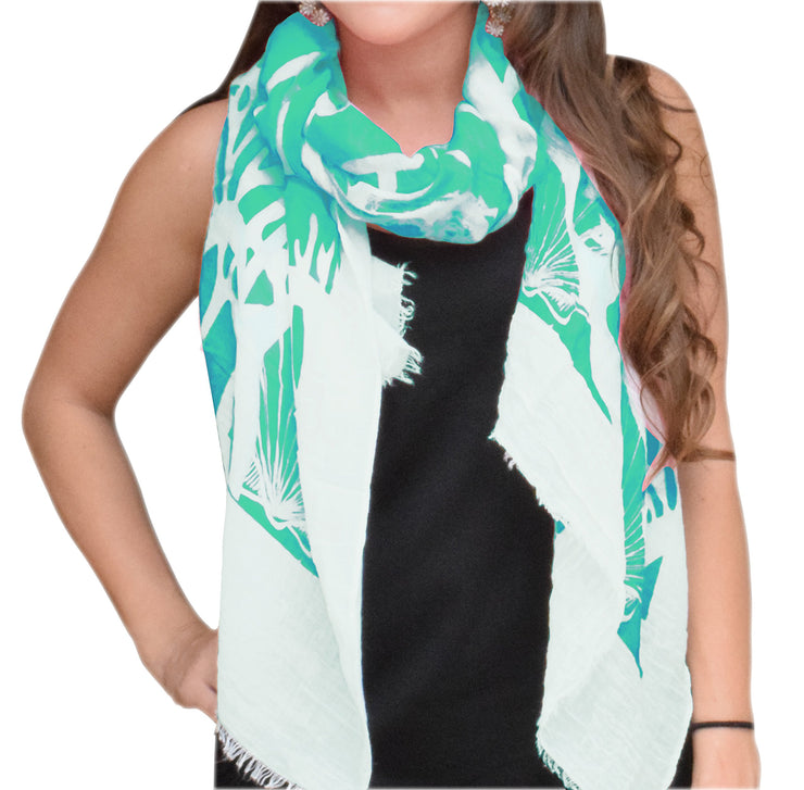 A5181-Nautical-Shell-Scarf-Mint-KL