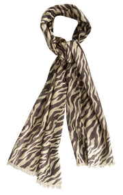 B07390-Animal-Print-Pash-Shawl-Brown-AC
