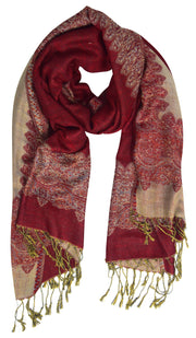 Pashmina-Cranberry-Red-Gold-PNC