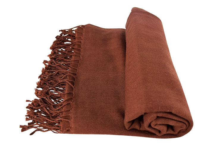 Luxurious Cashmere Fine Wool Travel Throws Blanket Scarf