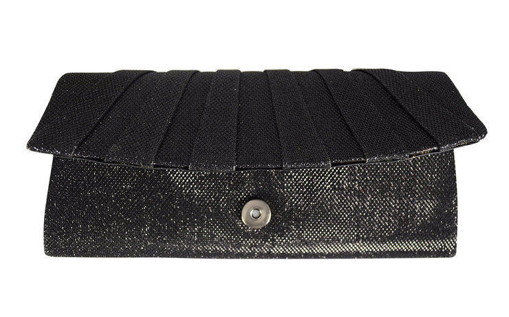 Embossed Elegant Evening Party Clutch Handbag Purse Add On Chain