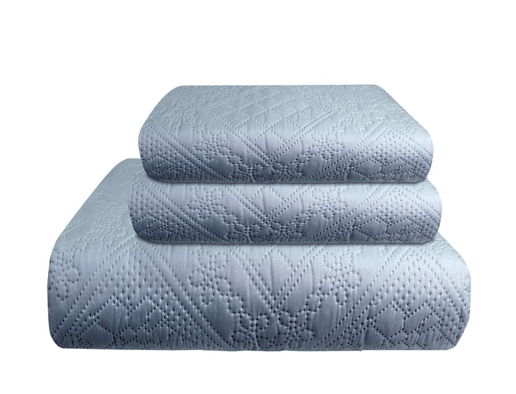 B8830-Embossed-3Pcs-BBlue-King-OS