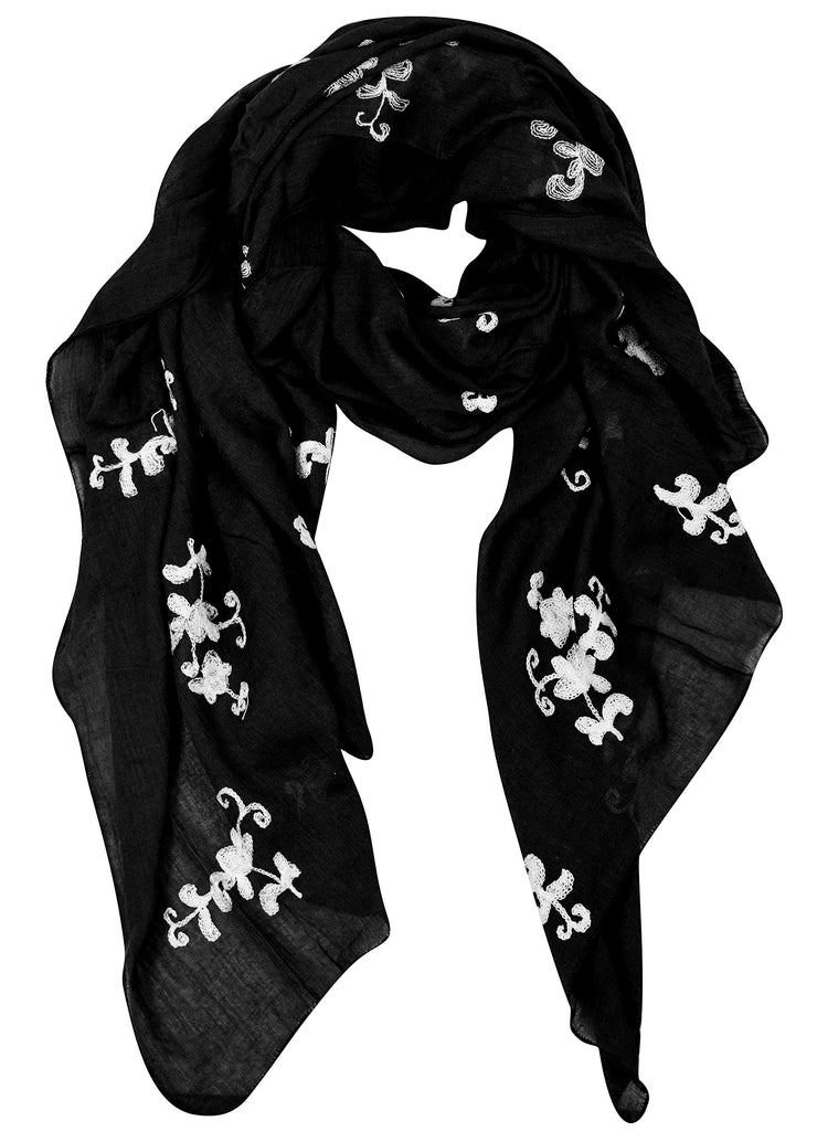 A6588-Floral-Embroidered-Pansy-Black-KL