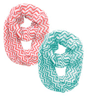 A2882-Chevron-Loop-Coral-Turq-