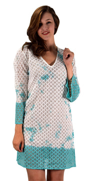 A9877-Lace-CoverUp-Tunic-Turq-LXL-KN