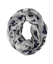 Peach Couture Womens Butterfly Sheer Infinity Scarves Wraps Summer Shawls Loop
