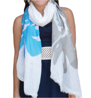 A5179-Abstract-Flower-Scarf-Aqua-KL