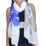 A5175-Abstract-Flower-Scarf-Blue-KL