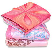 Couture Home Collection Girls Pink Tree Flower Printed Neutral Color 100 % Wrinkle Free Sheet Set-650 Thread (Pink, Queen)