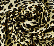 Peach Couture Animal Leopard Print Sheer Scarves Summer Shawls Wraps Fringes
