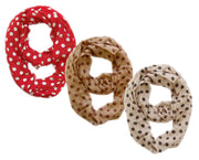 A3859-Polka-Loop-3-Red-Taupe-Cream-KL