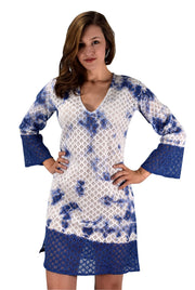 A9874-Lace-CoverUp-Tunic-Blue-SM-KN