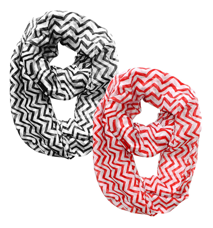 A4039-Chevron-Loop-Red-Black-K
