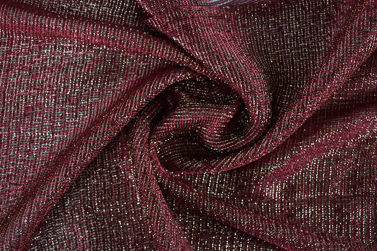 Women Sheer Metallic Shimmer Mesh Glitter Sparkle Scarf Shawl Wrap