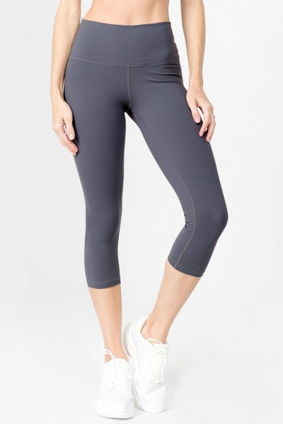 Dove Active Buttery Soft Capri Leggings