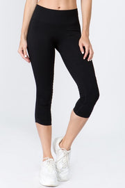 Miroslava Active High Rise Cinched Ankle Seamless Leggings
