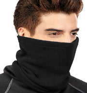 Soft Versatile Ski Face Mask Hat Neck warmer Biker Snowboard Skiing Snow Sport (Black)