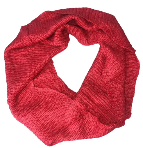 Warm Chunky Hand Made Thick Ribbed Knitted Infinity loop Scarves