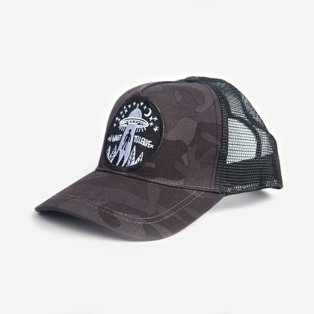 Gorra Trucker I Want To Live