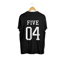 Load image into Gallery viewer, Five 04 Black Tee