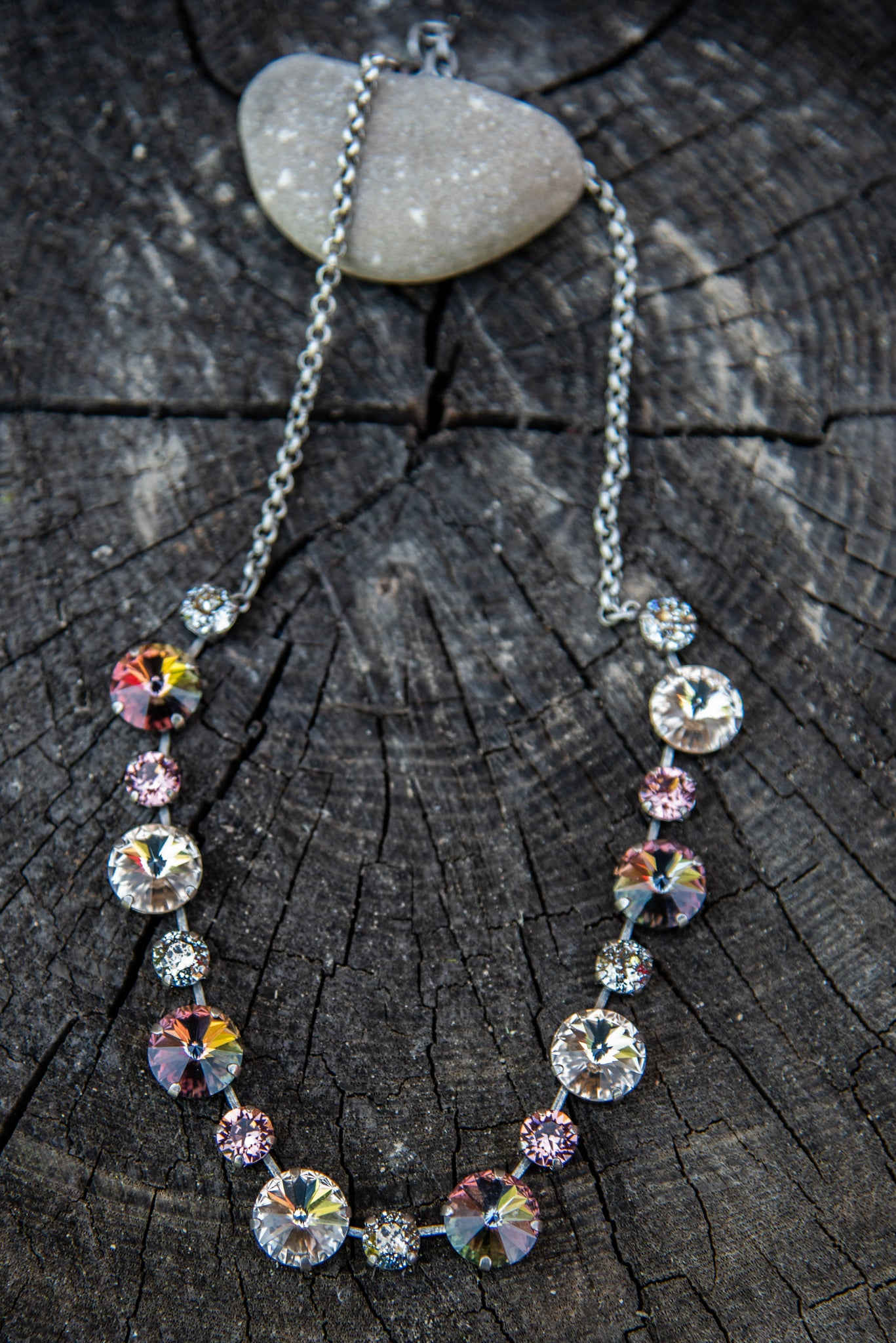 Beatrice Chai Swarovski Necklace by Rachel Marie Designs