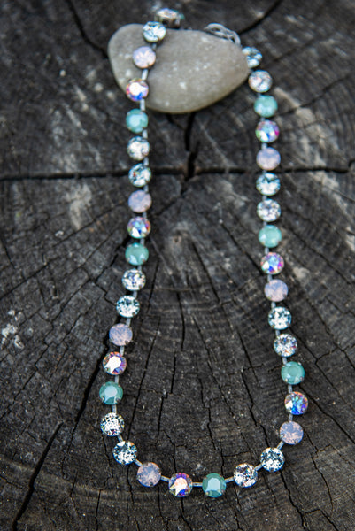 Jess Sunday Brunch Opal Mix Necklace by Rachel Marie Designs