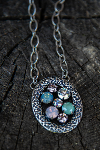 Sunday Brunch Opal Mix Necklace by Rachel Marie Designs