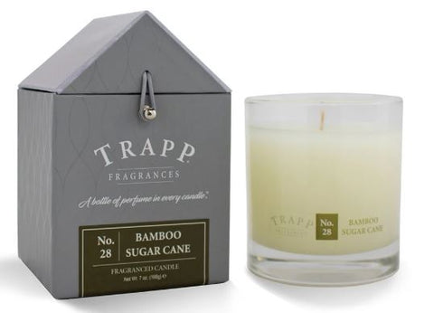 Bamboo Sugar Cane Scent Trapp Candle