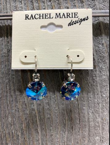 Brooke Swarovski Light Sapphire AB Drop Earring by Rachel Marie Designs