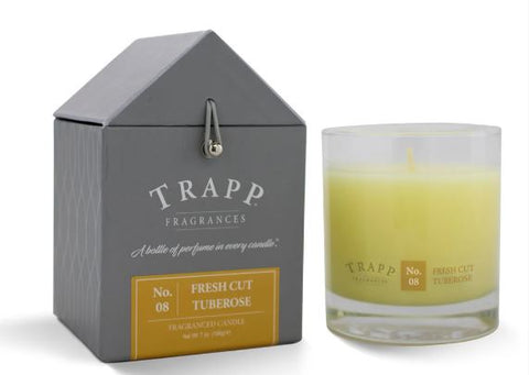Fresh Cut Tuberose Scent Trapp Candle