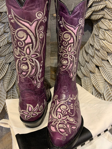 Costilla purple/pink boots size 7.5