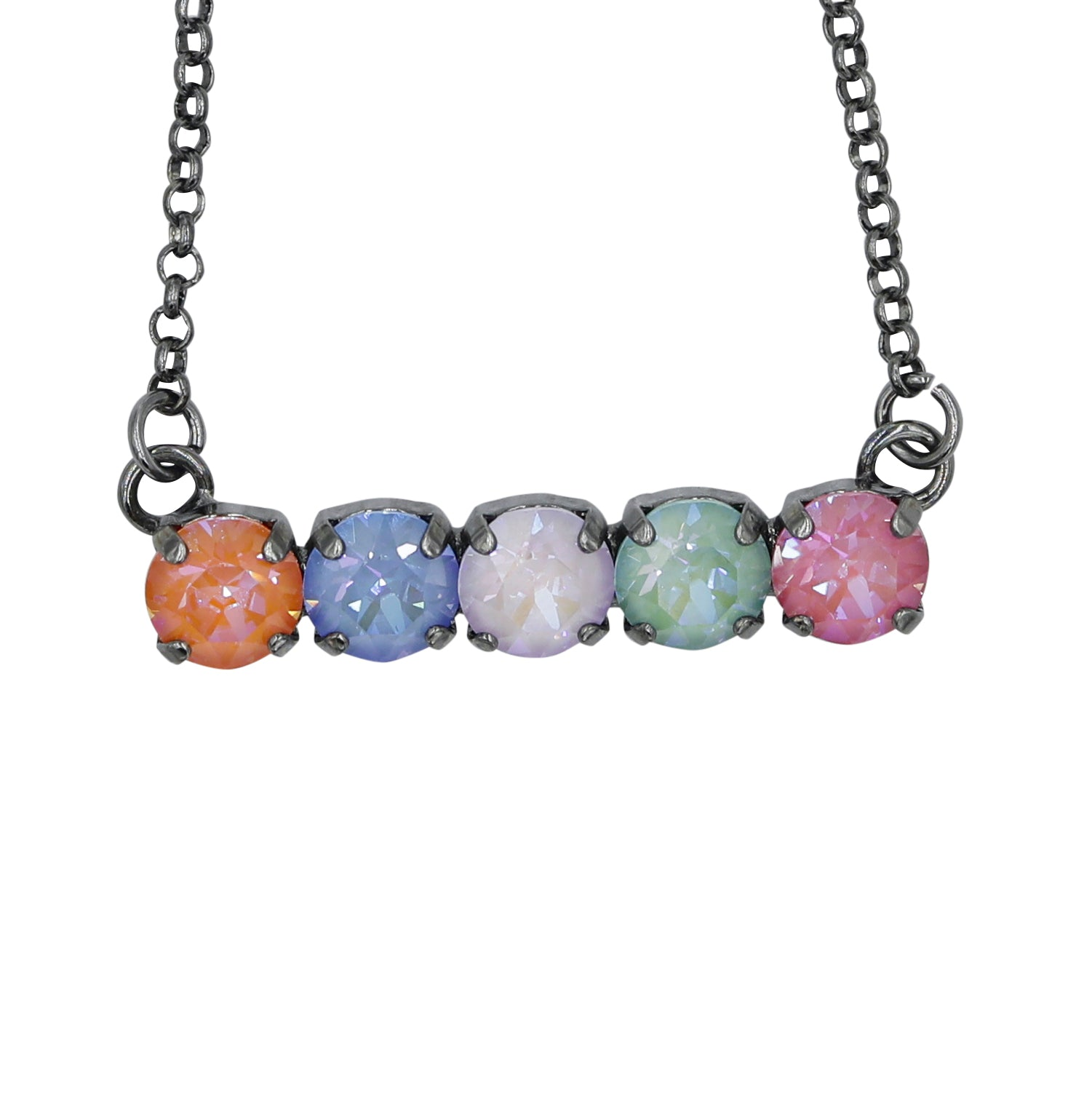 Kayla Swarovski Crystal Necklace by Rachel Marie Designs