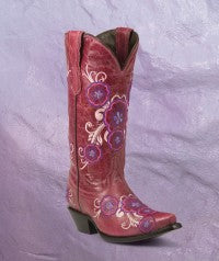 Valencia Pink boots size 7 1/2