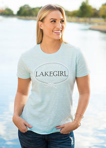 Short Sleeve Slub Tee by Lakegirl