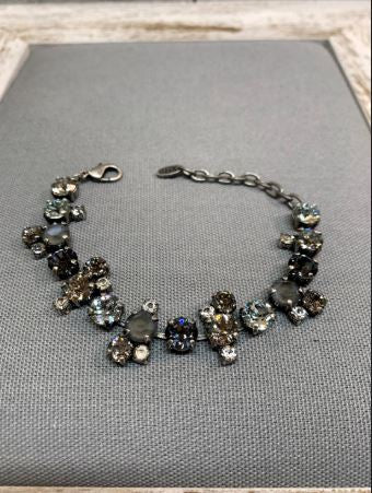 Ashley Bracelet in Snow Leopard by Rachel Marie Designs