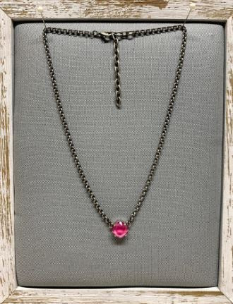 Tempo Peony Swarovski Crystal Necklace by Rachel Marie Designs