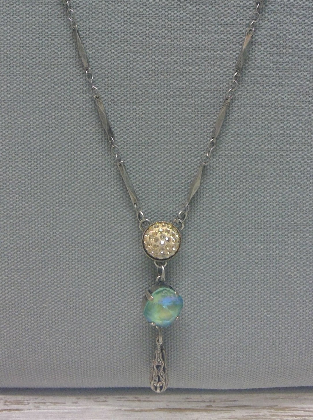 Garden Gate Necklace by Rachel Marie Designs