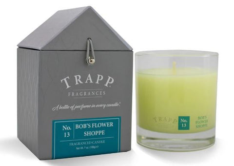 Bob's Flower Shoppe Scent Trapp Candle