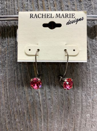 Shaina Loop Drop Swarovski Earring by Rachel Marie Designs
